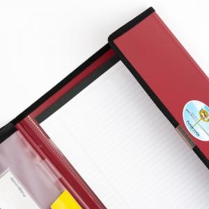 Foldermate - Foldermate Executive Organizer Klasör + Rhodia A4 Color Pad Çizgili Defter (1)
