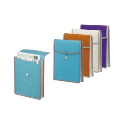 Foldermate - Foldermate Körüklü Zarf Dosya Ataçlı