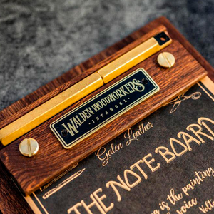Galen Leather - Galen Leather The Note Board (Rhodia Bloknot Pad Hediyeli) (1)