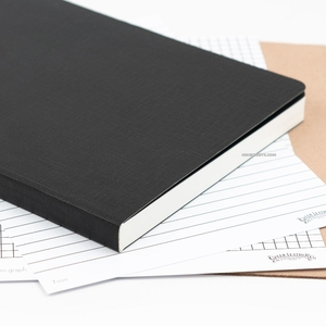 Galen Leather - Galen Leather Tomoe River Paper Çizgisiz A5 400 Sayfa Defter