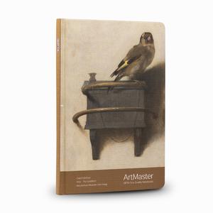 Gıpta - GIPTA Artmaster 19x26cm Perforeli Defter Carel Fabritius The Goldfinch