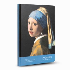 Gıpta - GIPTA Artmaster 19x26cm Perforeli Defter Johannes Vermeer Girl With a Pearl Earring