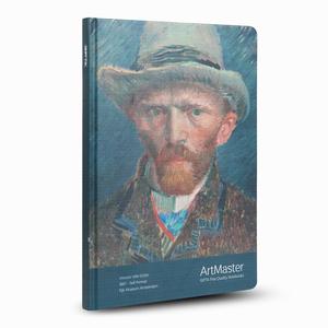 GIPTA Artmaster 19x26cm Perforeli Defter Vincent Van Gogh Self Portrait - Thumbnail