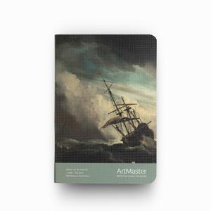 Gıpta - GIPTA Artmaster A6 Perforeli Çizgisiz Defter Willem Van de Velde II – The Gust 0576