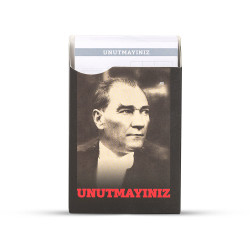 Gıpta - GIPTA Unutmayınız Not Kartları Atatürk Seri 1