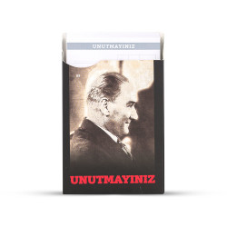 Gıpta - GIPTA Unutmayınız Not Kartları Atatürk Seri 2
