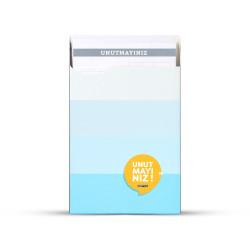 Gıpta - GIPTA Unutmayınız Not Kartları Mavi Şeritler