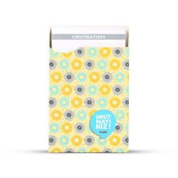 Gıpta - GIPTA Unutmayınız Not Kartları Sarı Pattern