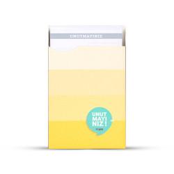 Gıpta - GIPTA Unutmayınız Not Kartları Sarı Şeritler