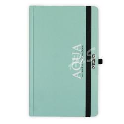 GIPTA Yeşil Aqua Çizgili Defter 13x21cm - Thumbnail