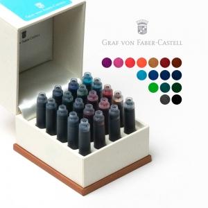 Graf von Faber Castell 16 Renk 20'li Standart Dolma Kalem Kartuşu 2684 - Thumbnail