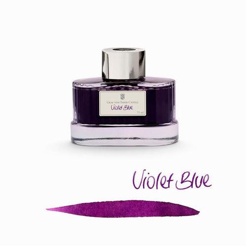 Graf von Faber Castell 75 ml Şişe Mürekkep Violet Blue 141006