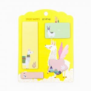 H&S - Happy Sticky 4′lü Yapışkanlı Not Kağıt Seti M05