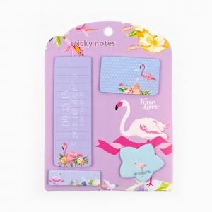 H&S - Happy Sticky 4′lü Yapışkanlı Not Kağıt Seti M07
