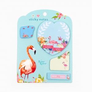 H&S - Happy Sticky 4′lü Yapışkanlı Not Kağıt Seti M08