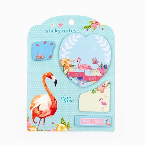 Happy Sticky 4′lü Yapışkanlı Not Kağıt Seti M08