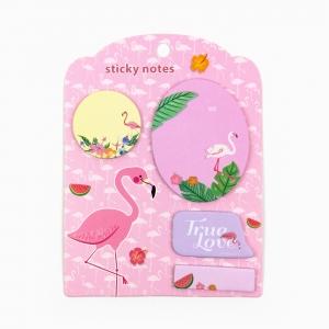 H&S - Happy Sticky 4′lü Yapışkanlı Not Kağıt Seti M09