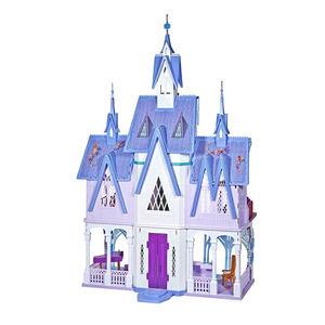 Frozen - Hasbro E5495EU4 Disney Frozen 2, Işıklı Dev 152x122cm Arendelle Şatosu 9054 (1)