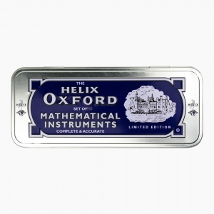 Maped - Helix Oxford Metal Kutulu Cetvel & Pergel Seti Limited Edition 3410