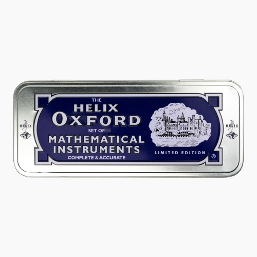 Helix Oxford Metal Kutulu Cetvel & Pergel Seti Limited Edition 3410