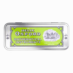 Helix - Helix Oxford Metal Kutulu Cetvel & Pergel Seti Limited Edition Yeşil 3106