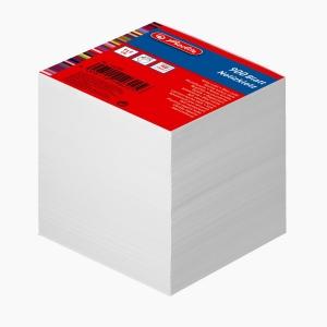 Herlitz - Herlitz 9x9 cm 900'lü Çizgisiz Beyaz Küp Not Kağıdı 146225