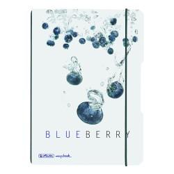 Herlitz - Herlitz A5 My Book Flex Defter Blueberry