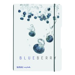 Herlitz - Herlitz A6 My Book Flex Defter Blueberry