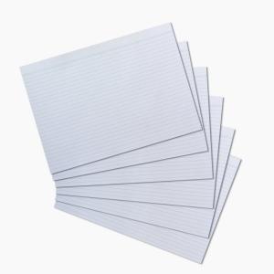Herlitz - Herlitz Kartoteks A4 100'lü Çizgili Beyaz 10621282 9507