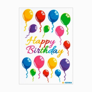 Herma - Herma Colorful Airballons Sticker 15518 5182 (1)