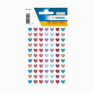 Herma - Herma Little Heart 3D Sticker 15222 2228