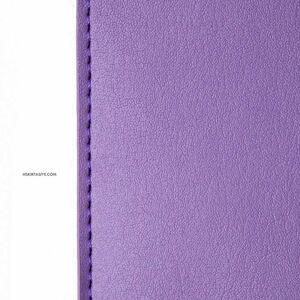 H&S Lastikli Kitap Defter Kalem Tutucu Mor 4349 - Thumbnail