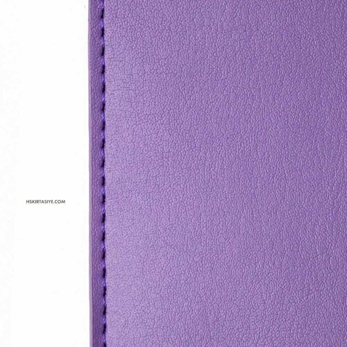 H&S Lastikli Kitap Defter Kalem Tutucu Mor 4349