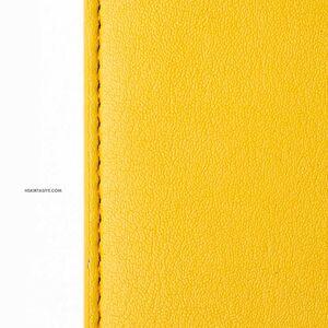 H&S Lastikli Kitap Defter Kalem Tutucu Sarı 4325 - Thumbnail