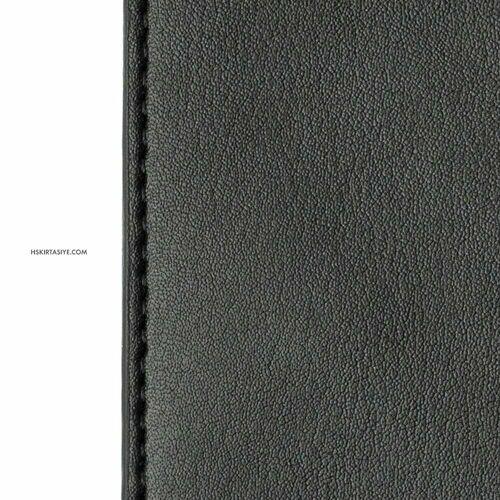 H&S Lastikli Kitap Defter Kalem Tutucu Siyah 4288