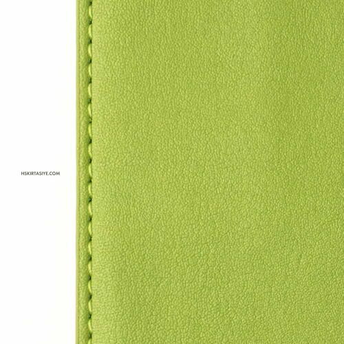H&S Lastikli Kitap Defter Kalem Tutucu Zeytin Yeşili 4295