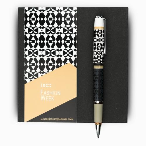 inoxcrom Fashion Week Sahara Geometrico Special Edition Tükenmez Kalem 1279