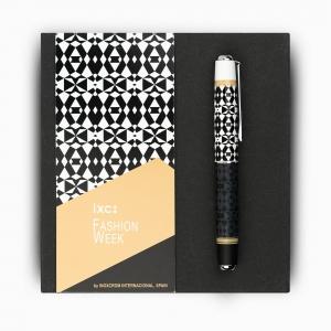 Inoxcrom - inoxcrom Fashion Week Sahara Geometrico Special Edition Tükenmez Kalem 1279 (1)
