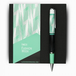 inoxcrom Fashion Week Verde Lineas Special Edition Tükenmez Kalem 1286 - Thumbnail