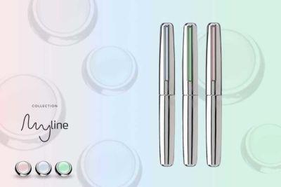 İnoxcrom My Line Cromado Pastel Mavi Roller Kalem