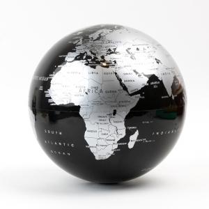 H&S - Işıklı Döner Küre Siyah