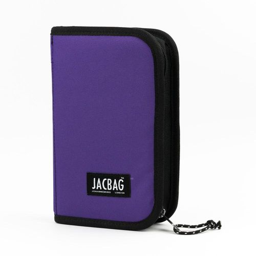 JACBAG Cover Jac Çift Kapaklı Kalem Çantası Purple Jac-23 7780