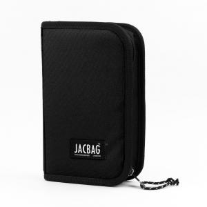Jac Bag - JACBAG Cover Jac Çift Kapaklı Kalem Çantası Siyah Jac-23 7780