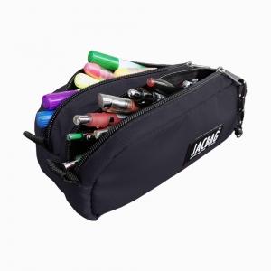 Jac Bag - JACBAG Dual Pouch Black Kalem Çantası 7711 (1)