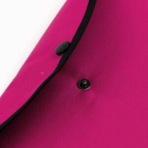 JACBAG Çıtçıtlı Folder Jac Electric Pink Jac-37 2766 - Thumbnail