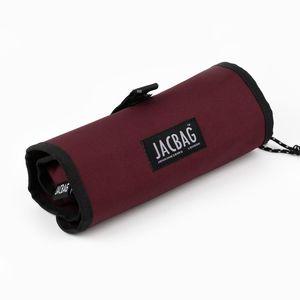 JACBAG Jac Senior Dark Garnet Rulo Kalem Çantası 7728 - Thumbnail