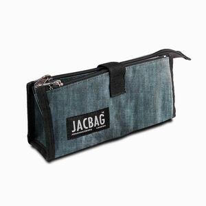 JACBAG Twin Jac Kalem Çantası Jeans 7766 - Thumbnail