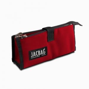 Jac Bag - JACBAG Twin Jac Kalem Çantası Red 7766
