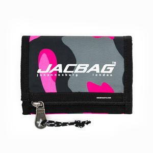 Jac Bag - JACBAG Wallet Jack Cüzdan Pink Camouflage 3095