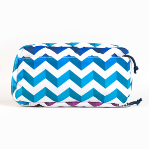 JANSPORT - JANSPORT Pixel Pouch Shadow Chevron Organizer 3346 (1)